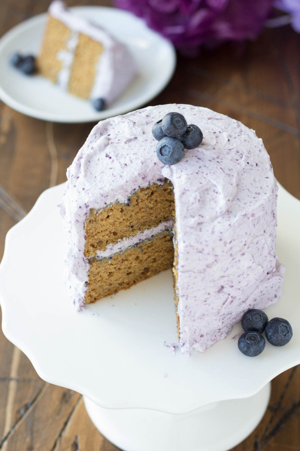 Healthy Birthday Cake  Healthier Smash Cake Recipe Hannah s Purple Polka Dot 1st