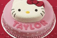 Hello Kitty Birthday Cake Awesome Hello Kitty Birthday Cake