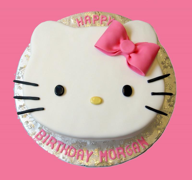 Hello Kitty Birthday Cake  zakka life A Hello Kitty Birthday Party