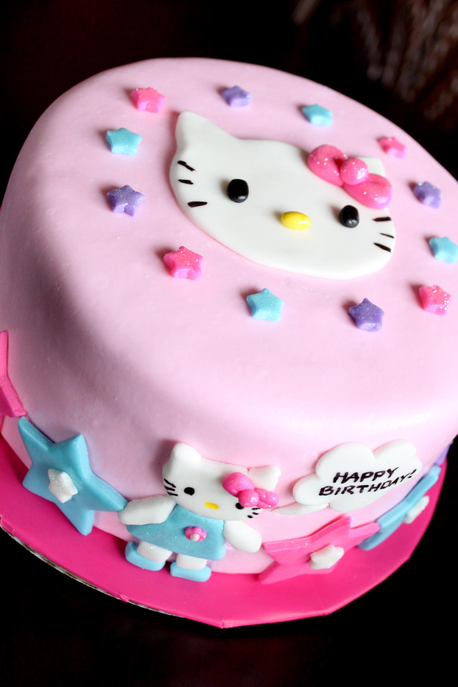 Hello Kitty Birthday Cake  Hello Kitty Cake