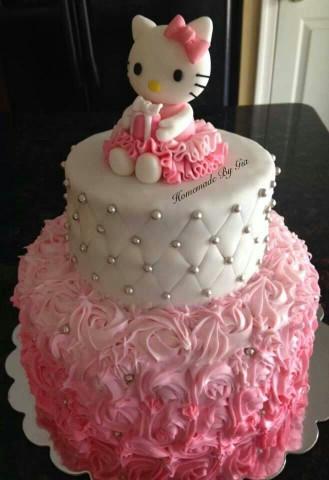 Hello Kitty Birthday Cake  Hello Kitty Birthday Cake Cake Decorating Ideas