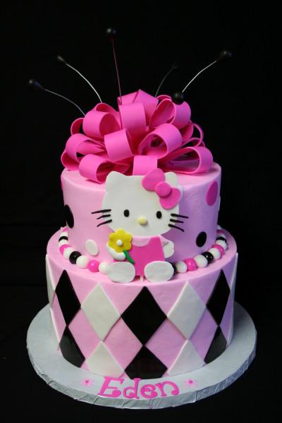 Hello Kitty Birthday Cake  Kanny Bing Bing 冰冰 Hello Kitty Birthday Cakes