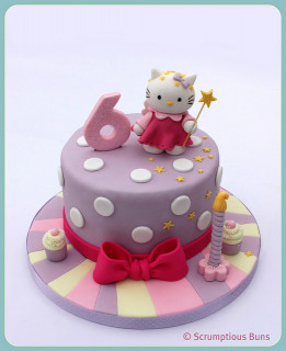 Hello Kitty Birthday Cake  Hello Kitty Birthday Cake Idea