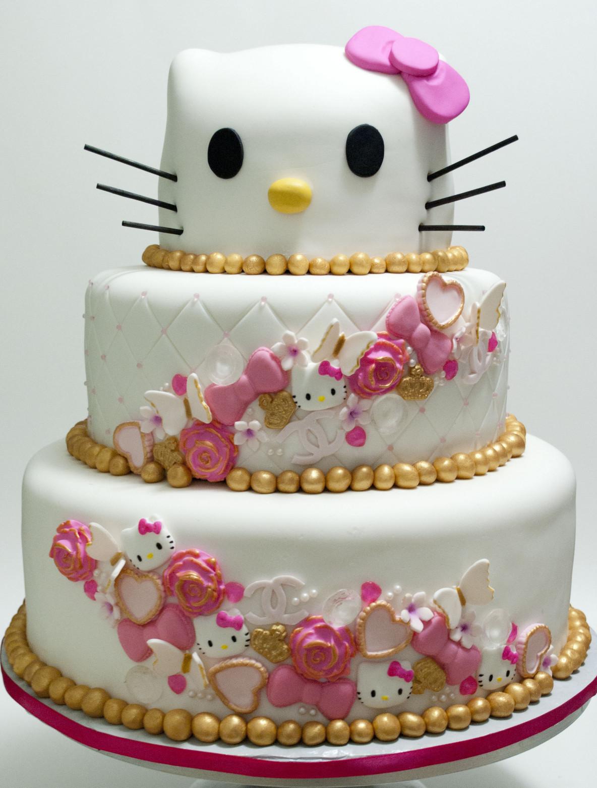 Hello Kitty Birthday Cake  Hello Kitty Cake Ideas