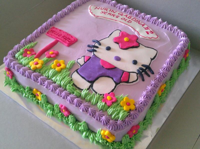 Hello Kitty Birthday Cake  Zairie Homemade Delights Hello Kitty Birthday Cake