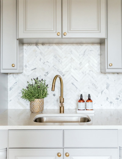 Herringbone Kitchen Backsplash Beautiful Freaking Out Over Your Kitchen Backsplash