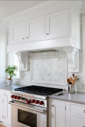 Herringbone Kitchen Backsplash Elegant 35 Beautiful Kitchen Backsplash Ideas Hative