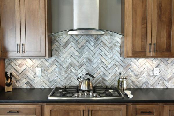 Herringbone Kitchen Backsplash Inspirational Timeless Herringbone Pattern In Home Décor