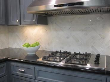 Herringbone Kitchen Backsplash Lovely Herringbone Pattern Backsplash Design Ideas