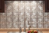 Home Depot Kitchen Backsplash Beautiful 18 In X 24 In Traditional 4 Pvc Decorative Backsplash