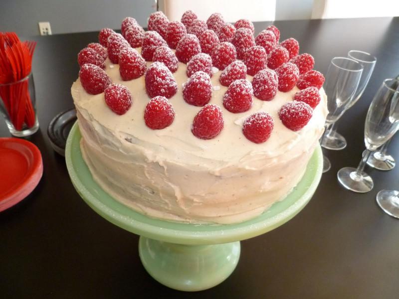 Homemade Birthday Cake  Savvy Vegan Homemade Vegan Birthday Cakes