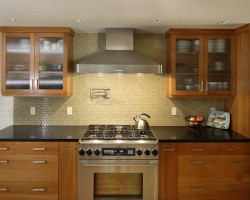 Houzz Kitchen Backsplashes New Glass Tile Backsplash