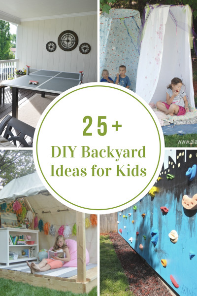 Ideas For Kids  DIY Backyard Ideas for Kids The Idea Room