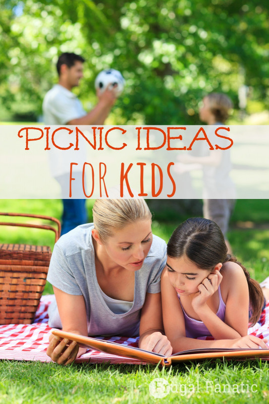 Ideas For Kids  Picnic Ideas For Kids Frugal Fanatic
