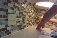 Installing Kitchen Backsplash Best Of How to Install Glass Mosaic Tile Backsplash Part 3