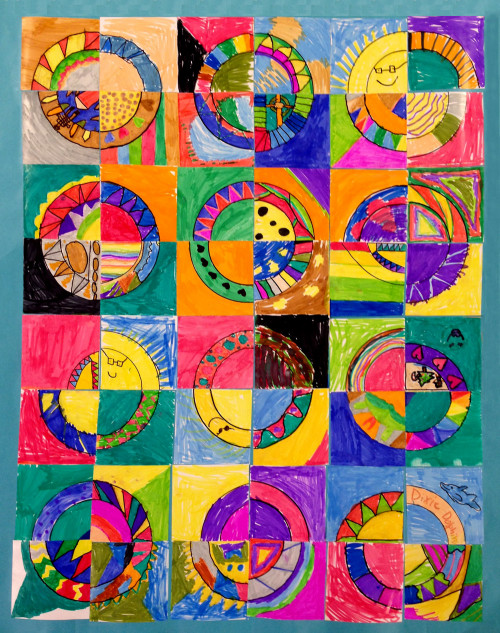 Kids Art Projects  Paper Quilts Art Projects for Kids