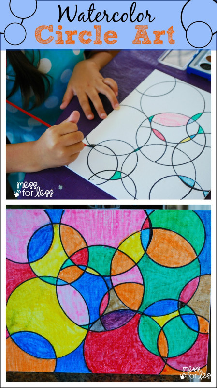 Kids Art Projects  Easy Kid Made Bookmark Mess for Less