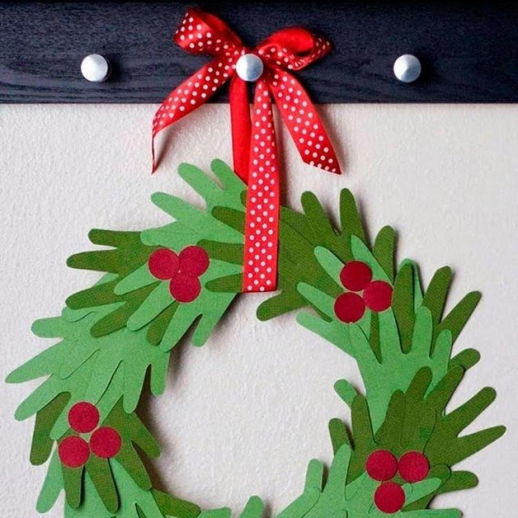 Kids Christmas Craft Gifts  10 Handprint Christmas Crafts for Kids