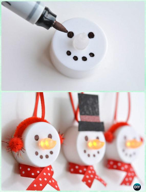 Kids Christmas Craft Gifts  20 Easy DIY Christmas Ornament Craft Ideas For Kids to Make