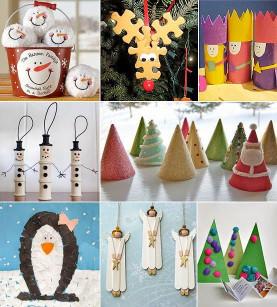Kids Christmas Craft Gifts  Pequenos Grandes Pensantes Dicas de Lembrancinhas de