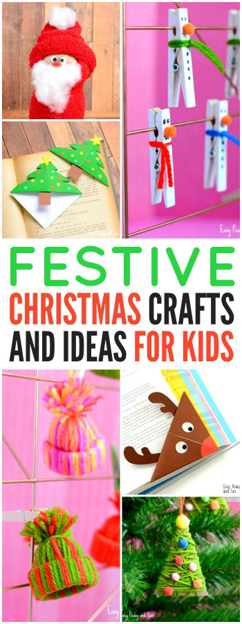 Kids Christmas Craft Ideas  Festive Christmas Crafts for Kids Tons of Art and