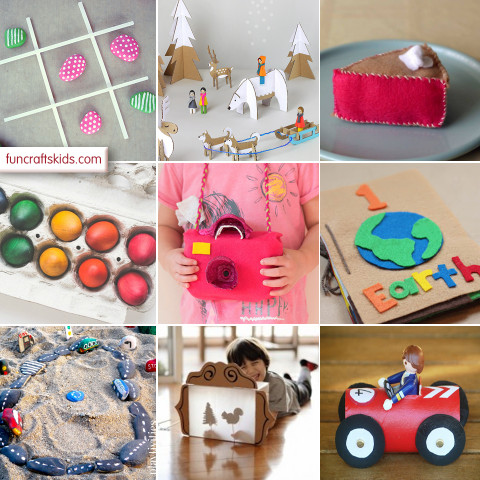 Kids Craft Toys  10 fantastic homemade toys Fun Crafts Kids