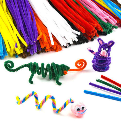 Kids Craft Toys  100pcs Montessori Materials Chenille Children Educational