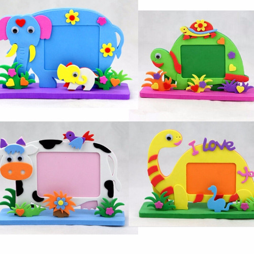 Kids Craft Toys  2017 New EVA Frame Foam Craft Toy Kids DIY Kits