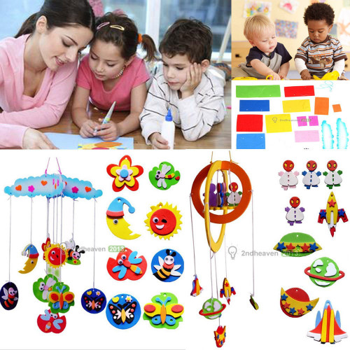 Kids Craft Toys  Children Kids Educational DIY Handmade Craft Toy Wind