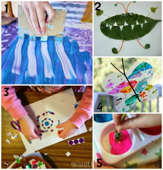 Kids- Creative Activities At Home  Learn with Play at Home 5 Activity Ideas for Creative Kids
