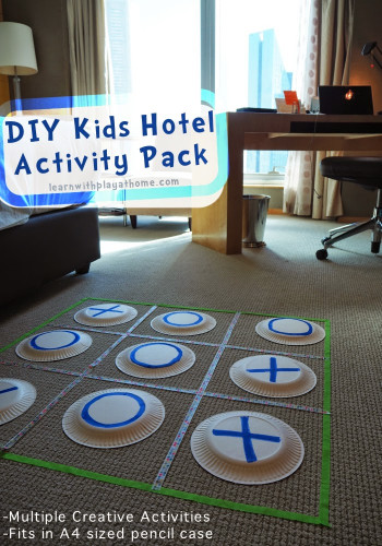 Kids Creative Activities At Home  Learn with Play at Home DIY Kids Hotel Activity Pack
