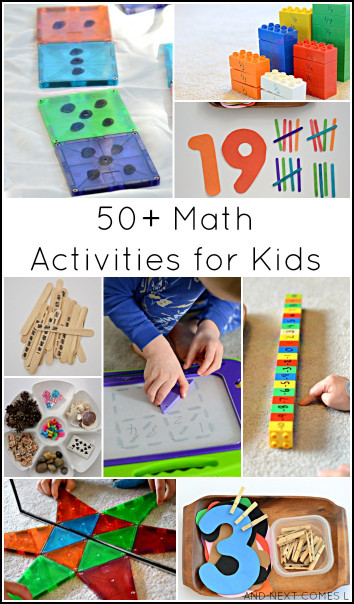 Kids Creative Activities At Home  Guest Post 50 Creative Math Activities for Kids
