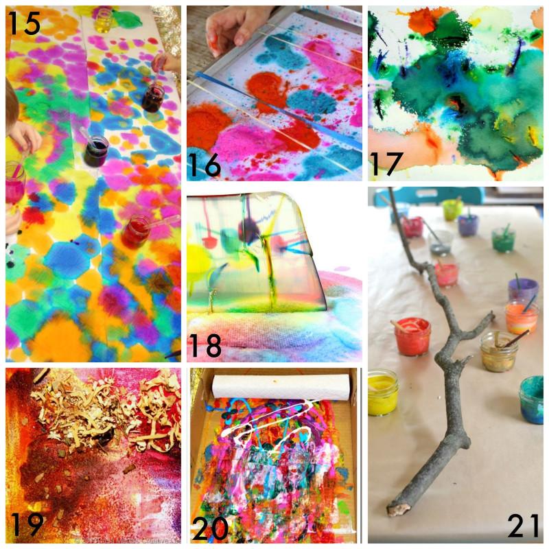 Kids- Creative Activities At Home  50 Easy Process Art Activities for Kids