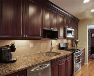 Kitchen Backsplash Ideas For Dark Cabinets  25 best ideas about Dark kitchen cabinets on Pinterest