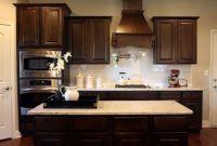 Kitchen Backsplash Ideas for Dark Cabinets Beautiful Dark Cabinets White Subway Tile Backsplash and