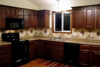 Kitchen Backsplash Ideas for Dark Cabinets Inspirational Kitchen Backsplash Ideas for Dark Cabinets Pattern — 3
