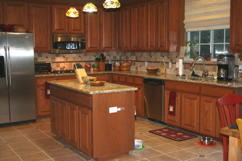 Kitchen Backsplash Ideas For Dark Cabinets  Kitchen Backsplash Ideas For Dark Brown Cabinets – Wow Blog