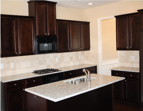 Kitchen Backsplash Ideas For Dark Cabinets  Kitchen Backsplash Ideas With Dark Wood Cabinets – Wow Blog