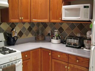 Kitchen Backsplash Ideas On A Budget Unique Tile Looking Backsplash A Bud