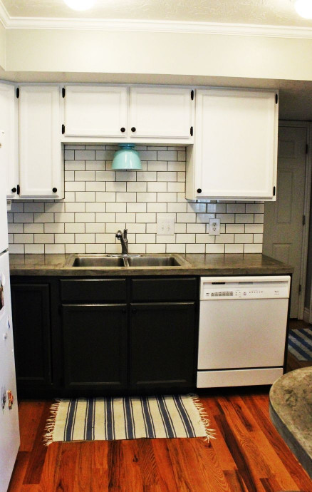 Kitchen Backsplash Subway Tile  How to Install a Subway Tile Kitchen Backsplash