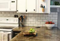 Kitchen Backsplash Subway Tile Lovely How to Install A Subway Tile Kitchen Backsplash