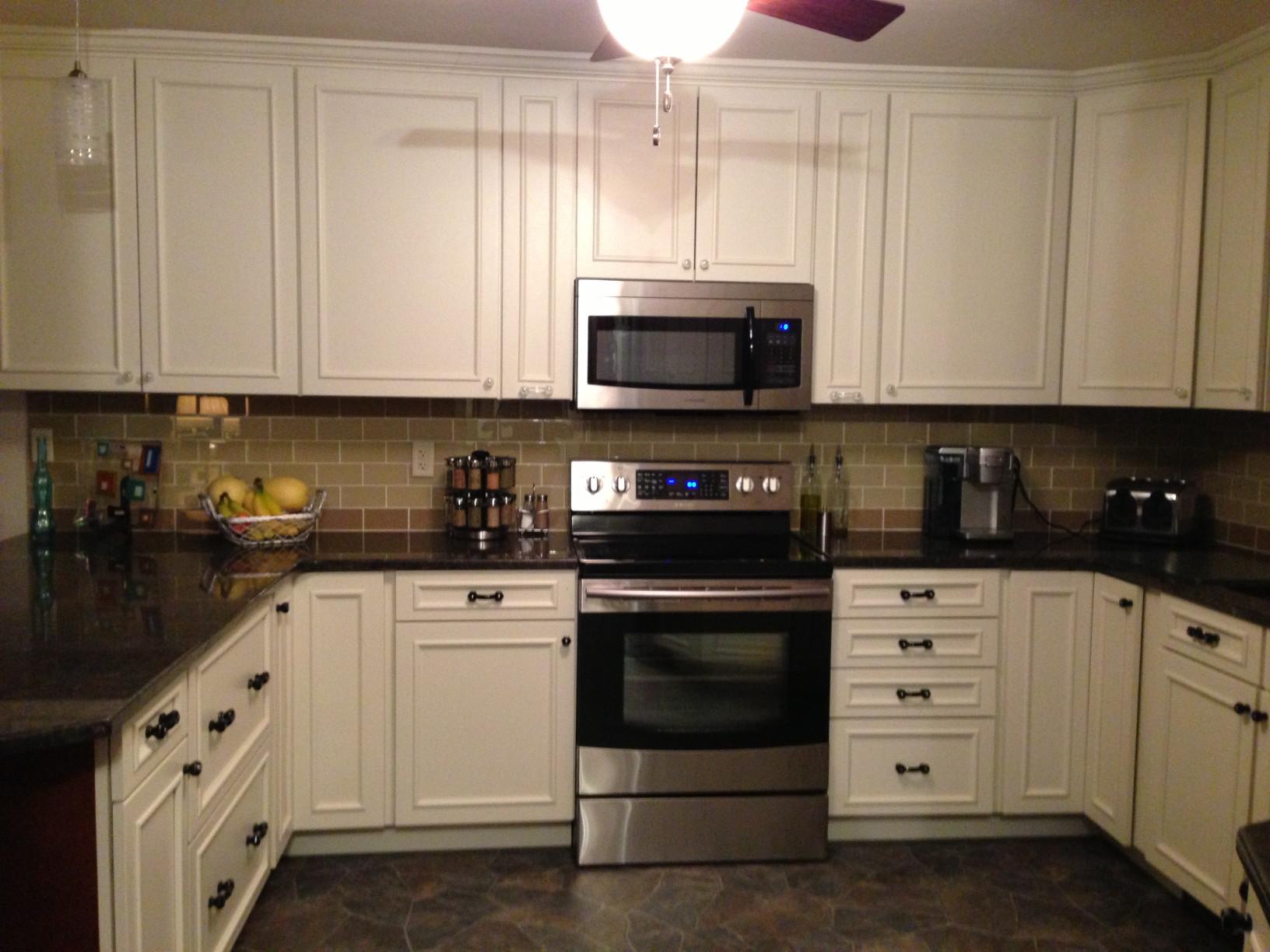 Kitchen Backsplash Subway Tile  Khaki Glass Subway Tile Subway Tile Outlet