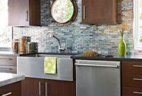 Kitchen Backsplashes Glass Tiles Awesome Glass Tile Backsplash
