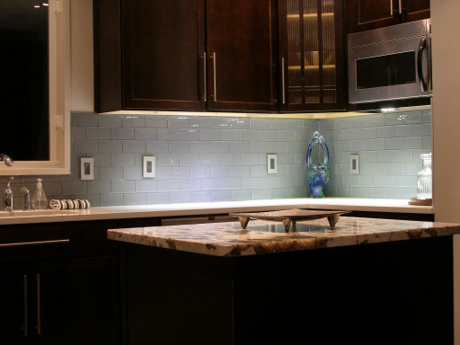 Kitchen Backsplashes Glass Tiles Awesome Simply Brookes Subways In the Kitchen