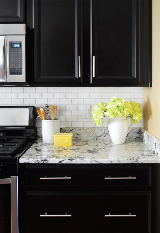 Kitchen Backsplashes Subway Tile  How To Install A Subway Tile Kitchen Backsplash
