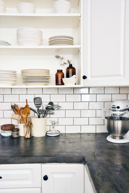 Kitchen Backsplashes Subway Tile  Before & After A Reclaimed Traditional Brick Foreclosure