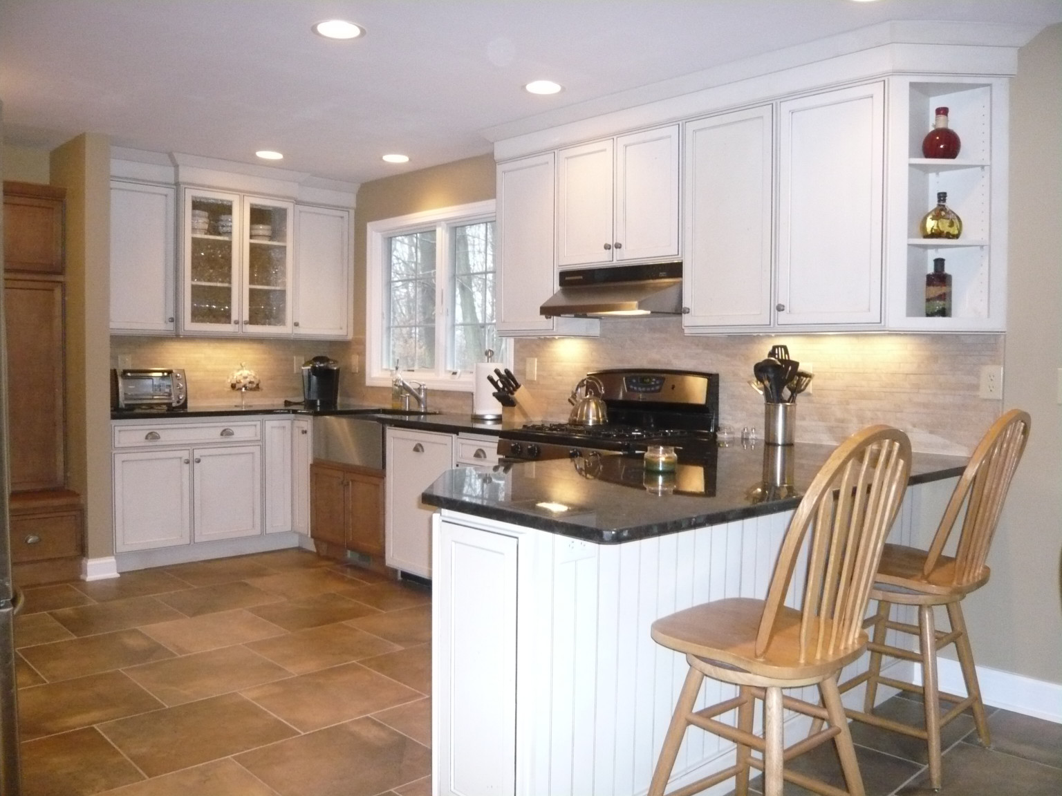 Kitchen Design Center  Wood and Paint Mix in Milford CT