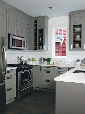 Kitchen Design For Small Space  Cool Kitchen Designs for Small Spaces