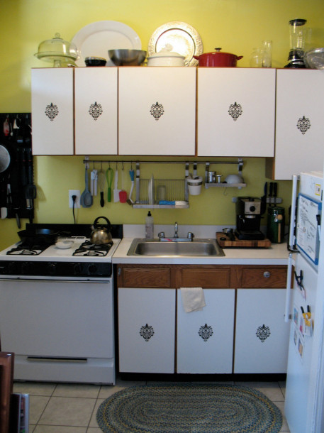 Kitchen Design For Small Space  Smart & Wise space utilization for very small kitchens