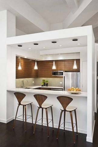 Kitchen Design For Small Space  14 wonderful space saving small kitchen designs